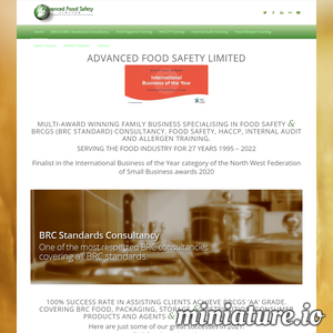 Food Safety Consultants - International Food Safety and