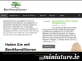 Bankkonditionen in �sterreich: Screenshot