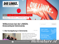 Die Linke. Kreisverband S�mmerda: Screenshot