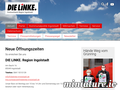 Die Linke. Ingolstadt: Screenshot