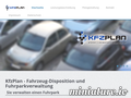 KfzPlan: Screenshot