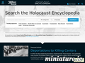 Holocaust Encyclopedia: Screenshot