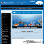 Majestic Aquariums | Fish tanks, tropical fish, aquarium supplies