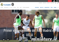 RealMadrid.com Screenshot