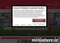 SCFreiburg.com Screenshot