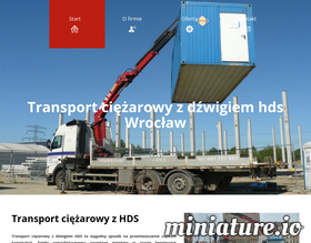 Transport HDS - hdsdzwigtransport.com