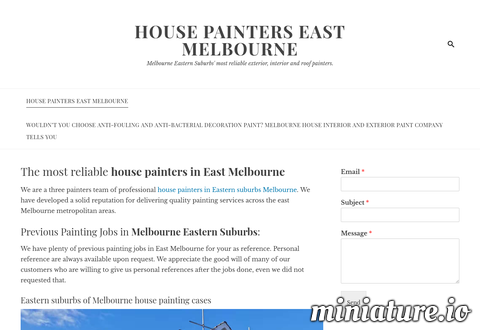 HOUSE PAINTERS EAST MELBOURNE