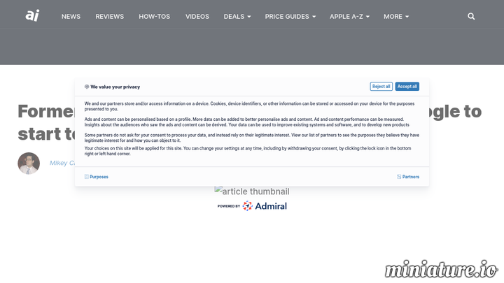 Former head of Android Andy Rubin leaves Google to start tech hardware incubator