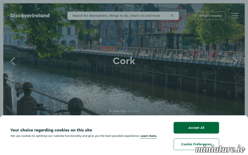 Discover Ireland - Cork Captured by webthumbnail.org