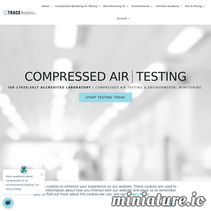 Trace Analytics, LLC Website