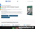 AOSIS OpenJournals