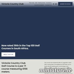 Victoria Country Club - Home网站缩略图