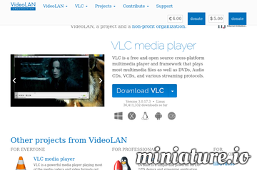 VLC: Official site - Free multimedia solutions for all OS! - VideoLAN